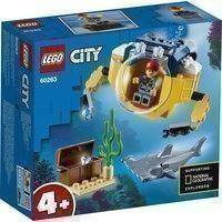 Lego City 60263 Valtameren Minisukellusvene