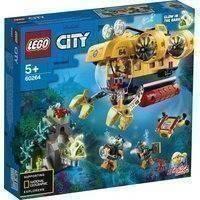 Lego City 60264 Valtameren Tutkimussukellusvene