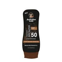 Australian Gold - Sunscreen Lotion w. Bronzer 237 ml - SPF 50