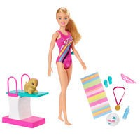 Barbie - Dreamhouse Adventures - Swimmer Doll (GHK23)