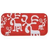 Brands Scandinavia Moose-tarjotin 27 x 13 cm punainen, Brands Scandinavia