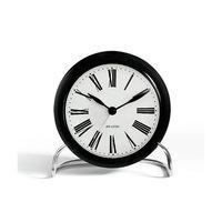Arne Jacobsen Roman pöytäkello 11 cm, musta, Rosendahl Timepieces