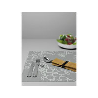Italesse Placemat Tabletti, Musta Kupla, Italesse