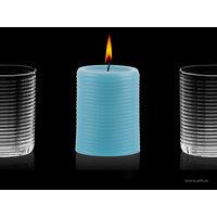 Aihio Aino Aalto® kynttilä, aqua, Aihio