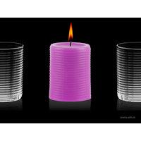 Aihio Aino Aalto® kynttilä, fuksia, Aihio