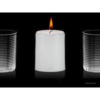 Aihio Aino Aalto® kynttilä, valkoinen, Aihio