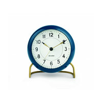 Arne Jacobsen herätyskello, tummansininen,