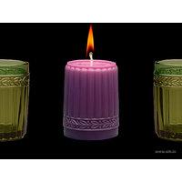 Aihio Kara kynttilä, purppura, Aihio