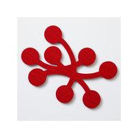 Verso Design MARJA pannunalunen, kirkkaanpunainen, Verso Design