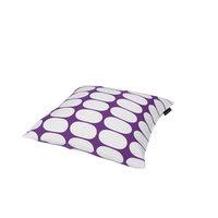 Mette Ditmer Ellipse-tyynynpäällinen, 45 x 45 cm violettivalkoinen, Mette Ditmer