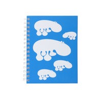 Brands Scandinavia Zoo Hippo muistikirja, A5 sininen, Brands Scandinavia