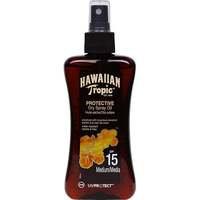 Hawaiian Tropic Protective Dry Spray Oil, SPF 15, 200 ml Hawaiian Tropic Aurinkosuojat