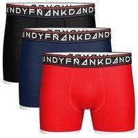 Frank Dandy 3 pakkaus St Paul Bamboo Boxers * Ilmainen Toimitus *