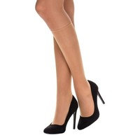 DIM 2 pakkaus Sublim Voile Mi-Bas Knee-high
