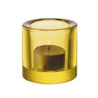 Kivi kynttilälyhty sitruunankeltainen