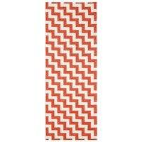 Gunnel matto punainen 70x300 cm