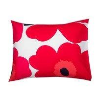 Unikko tyynyliina punainen