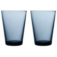 Kartio juomalasi 40 cl 2 kpl sade (sininen)