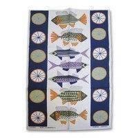 Fiskafänge keittiöpyyhe monivärinen