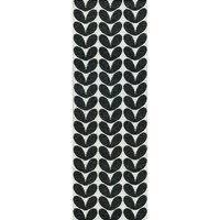 Karin matto musta 70 x 300 cm, Brita Sweden