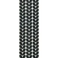 Karin matto musta 70 x 300 cm