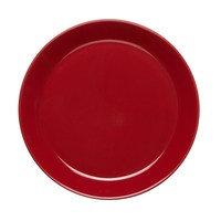 Höganäs lautanen 20 cm omenanpunainen, kiiltävä