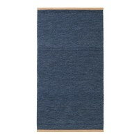 Björk-matto sininen 80x250 cm