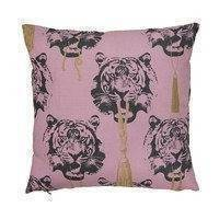 Coco Tiger tyynyliina vaaleanpunainen, Studio Lisa Bengtsson