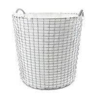 Pyykkisäkki Korbo koriin valkoinen 65 l