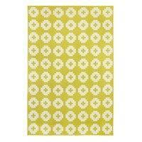Flower matto sun iso (keltainen) 170x250 cm