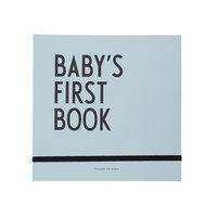 Design Letters Baby's First Book kirja Sininen