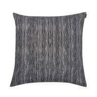 Varvunraita tyynynpäällinen musta-valkoinen, Marimekko