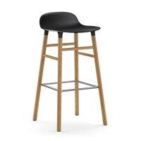 Form Chair baarijakkara Jalat tammea musta, Normann Copenhagen