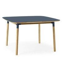 Form pöytä 120x120 cm sininen, Normann Copenhagen