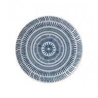 Dark Blue Chevron lautanen 21 cm, Royal Doulton