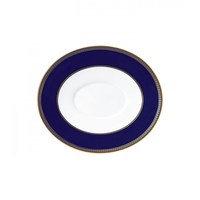 Renaissance Gold kastikekannun aluslautanen sininen