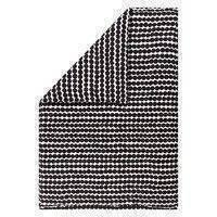 Räsymatto pussilakana 210x150 cm Musta-valkoinen, Marimekko