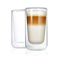 Nero Lämpöä eristävä latté macchiato -lasi, 2-pack Kirkas, Blomus
