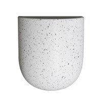 Cut seinälle ripustettava ruukku white dot Large, DBKD