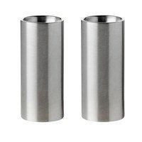 AJ cylinda-line suola- ja pippurisetti Ruostumaton