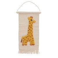 Giraffe seinäkoriste 32x70 cm Beige, OYOY