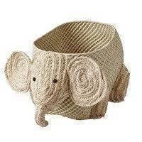 Rice raffia säilytyskori eläin Elefantti, RICE