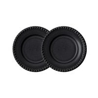 Daria leipälautanen Ø 18 cm, 2-pakkaus Ink black, PotteryJo