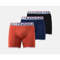 St Paul Bamboo Boxer 3-Pack, Frank Dandy