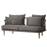 &Tradition Fly SC2 sohva, savustettu tammi - Hot Madison 093