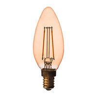 Airam Decor Amber LED kynttilälamppu 2W E14 250lm