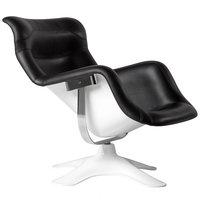 Artek Karuselli tuoli, musta-valkoinen