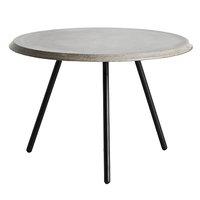 Woud Soround sohvapöytä, 60 cm, betonikansi