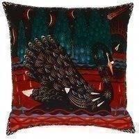 Klaus Haapaniemi Black Swan tyynynpäällinen, sametti
