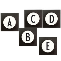 Design Letters Hook2 ripustin A-Z